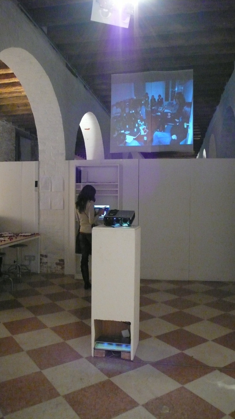 Open Studios, presentazione di un video