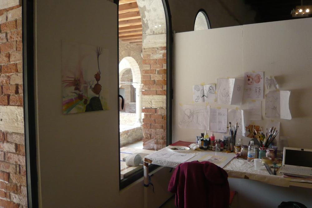 studio affacciato sul chiostro di Arianna Piazza
