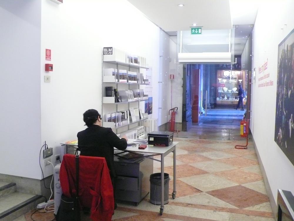 ingresso della galleria di piazza S. Marco