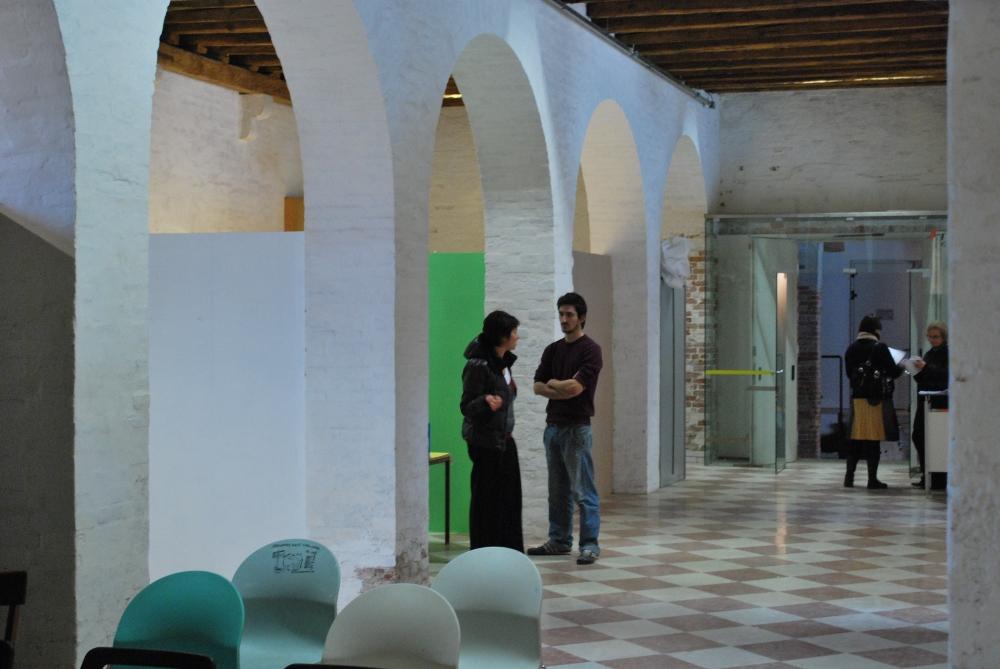 preparazione di un open studios