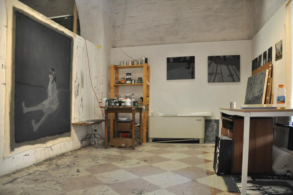 atelier di un pittore