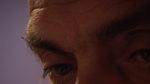 primo piano degli occhi di un uomo anziano