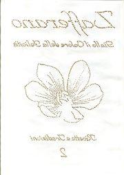 copertina di un libro traforata a mano