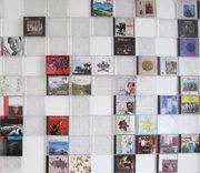 installazione con custodie di cd vuote e con la copertina