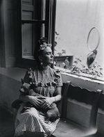 ritratto fotografico di Frida Kahlo