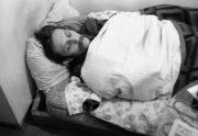 artista che dorme