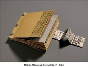 libro d'artista di George Maaciunas, 1964
