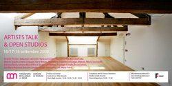invito agli Open Studios con un'immagine dell'atelier 7