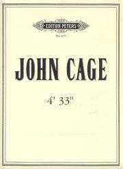 partitura di John Cage